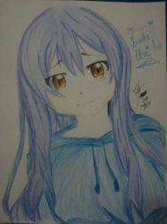 Love Live Sonoda Umi for April Feels by Kha-Na