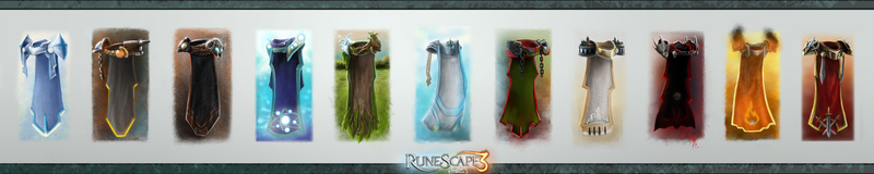 Rs SkillCapes Level99 Epicness  VOL I by RS-LegendArts