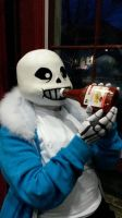 Undertale Sans Cosplay (Ketchup Lover) by TheBeastInBeauty
