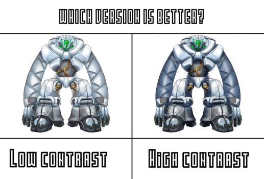 Out of context designs: which style looks better? by AgitatedRiveting