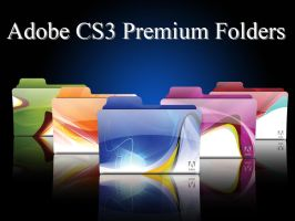 Adobe CS3 Premium Folders by morillon89