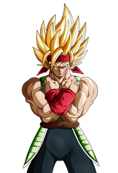 Reborn as a Hero. Bardock SSJ2 by Koku78