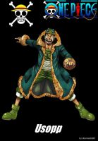 Usopp (Log) by sturmsoldat1