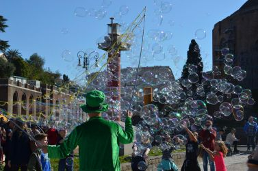 Bubbles - Rome by abftg