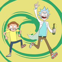Rick and Morty by lewisrockets