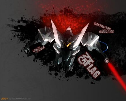Gundam00- GN Flag by anime102004