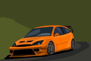 Ford Focus Rally by trippy87oct