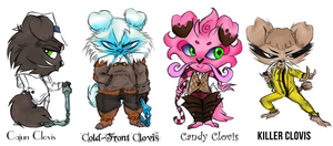 Clovis Alt Skins 2 by aftertaster7