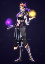 Concept art|Egyptian Moira by SouOrtiz