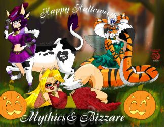 Mythics and Bizzare Halloween Remake by anbumsw