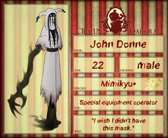 CD NPC: John Donne by Derekari
