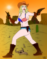 American Woman by TheAmazingMrSMY