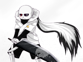 Underverse: Cross! Sans by Copyplier