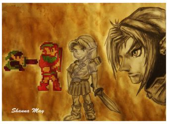 Evolution Of Link by TheArtfulShow