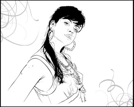 Lily Allen by Mr-FunnyFace