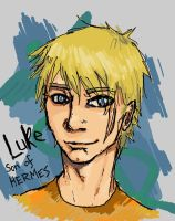 LUKE - son of HERMES by wolf-nightmare