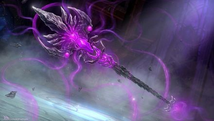 WoW - Shadow Priest Artifact Weapon by RogierB
