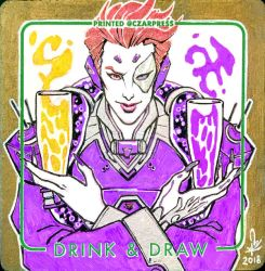 OW Moira Coaster Sketch by mkmatsumoto
