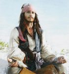 Jack Sparrow (drawing) by Quelchii