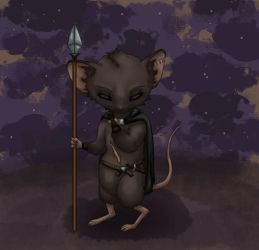 Midnight Squeak by ColoredPencils