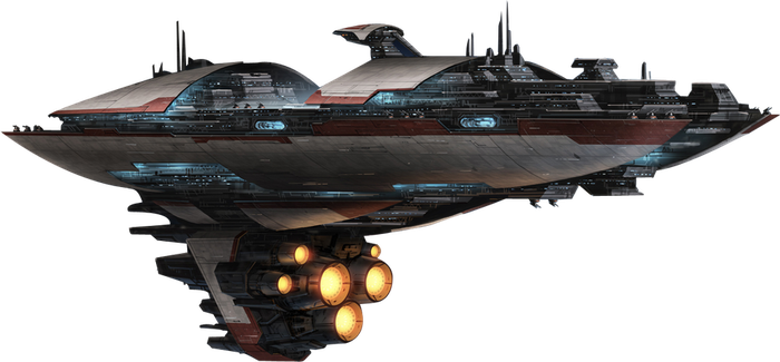 SWTOR - Republic Capitol Ship by DoctorAnonimous