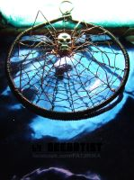 Spider on a Web by DeeArtist321