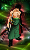 Zoro - The Pirate Hunter by HayabusaSnake
