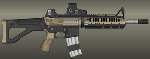 MW2 Revisited - US Army Rangers M4A1 by TheMakoHighlander