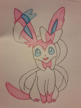 Sylveon by chlooepm