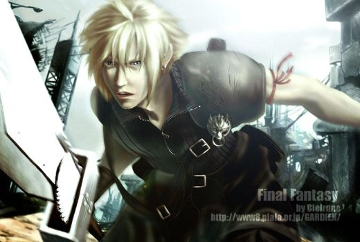Cloud Strife ver.2 by Cielrune
