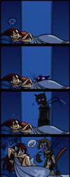 Jill x Lethe Comic by omgdragonfly