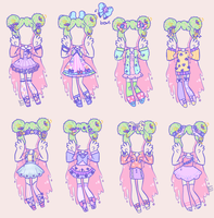 [outfit set] - NebulasOwl by hello-planet-chan