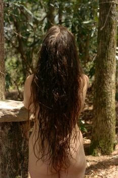 Forest Goddess freshly washed by skiesofchaos