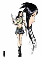 X-23 color by RodneyCJacobsen