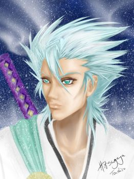 Adult Hitsugaya Toushiro by Bubblecat