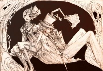 Victorian Couple by oOAngeliceOo