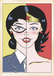 DIANA PRINCE IS WONDER WOMAN by paintmarvels