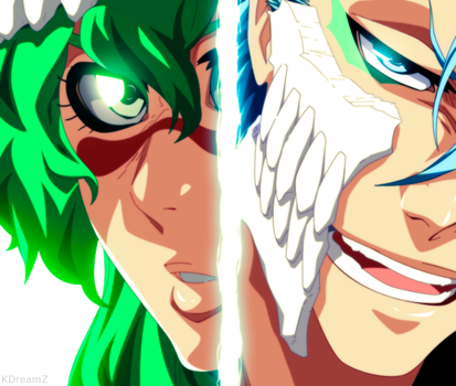 Nelliel and Grimmjow B_625 by KDreamZ
