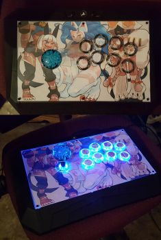 my fully restored fightstick! by Jiant101