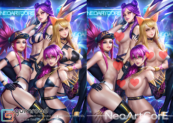 KDA nsfw by NeoArtCorE