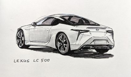 Lexus LC 500 by Hunternif