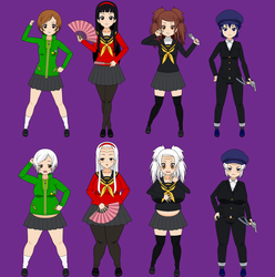 Persona Girls Old Age by Jackpotmans