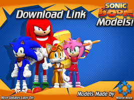 Sonic Boom Models First Release! by Nibroc-Rock