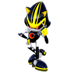 Metal Sonic 3.0 Legacy Render by Nibroc-Rock