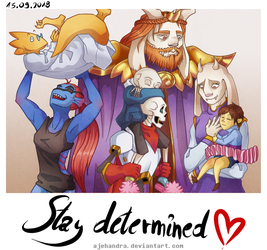 UNDERTALE ANNIVERSARY THE 3rd by Ajehandra