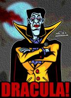 Cartoon Villains - 091 - Dracula from Castlevania! by CreedStonegate