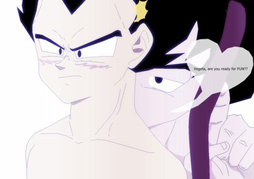 You are mine... (2) by DBZfun4ever
