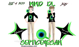 Update! [MMD] Septiceyesam DL by KillerFoxKatelynn