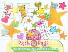 Pack 15 pngs by akumaLoveSongs