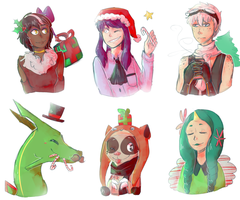 Christmas Gifts 1 by Tokiball12345